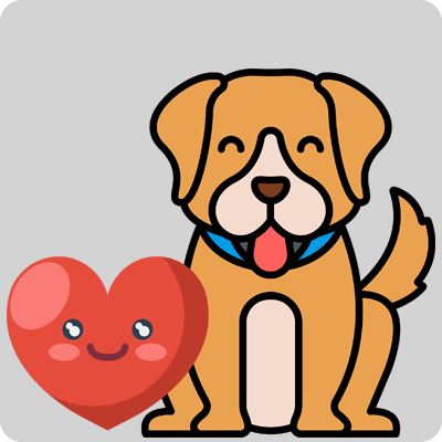 Healthy Heart With Pet Around You